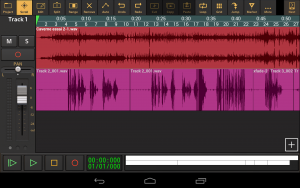 Audio evolution mobile Daw - capture